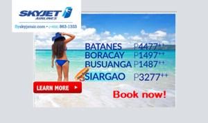 Skyjet-Batanes-Boracay-Coron-Siargao-Seat-Sale-2017