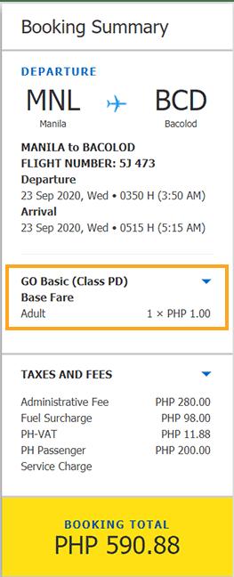 Cebu-Pacific-Super-Seat-sample-booking sale