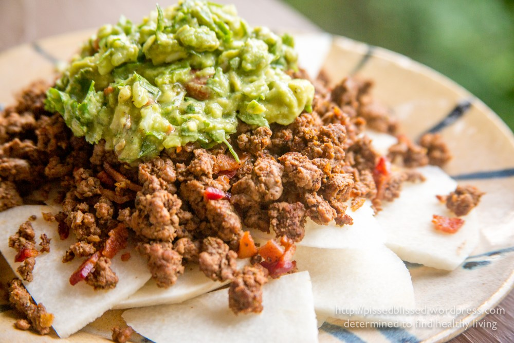 Jicama Beef Nachos (4/4)
