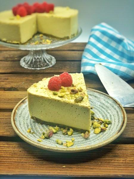 Cheesecake de pistachos 1