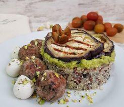 Quinoa tricolor con pistachos 1