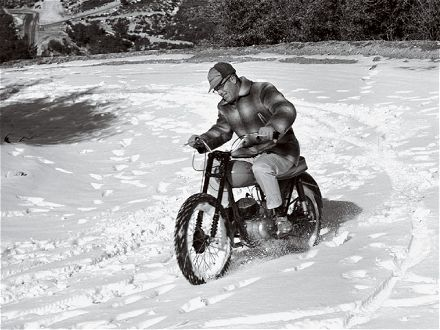 We sell heated gear! If you're like this guy, be prepared!