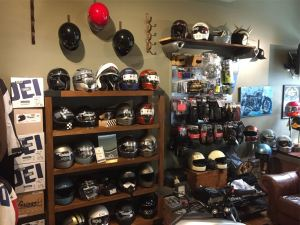 Just a few of the helmets we offer.