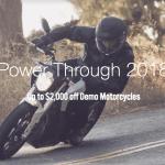 Zero Motorcycle Promo Save Big