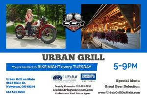 Bike Night at Urban Grille @ Urban Grille | Cincinnati | Ohio | United States