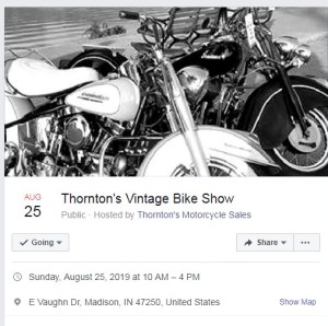 Thorntons Bike Show