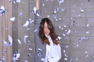 戸田恵梨香 髪をバラバラ
