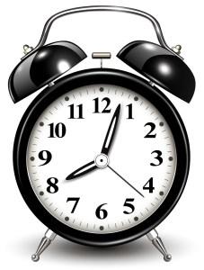 目覚まし時計 フリー素材