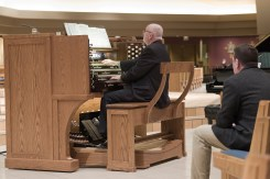 The new organ at St. Thomas More Church