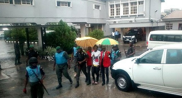 Naira Marley Arrives Court