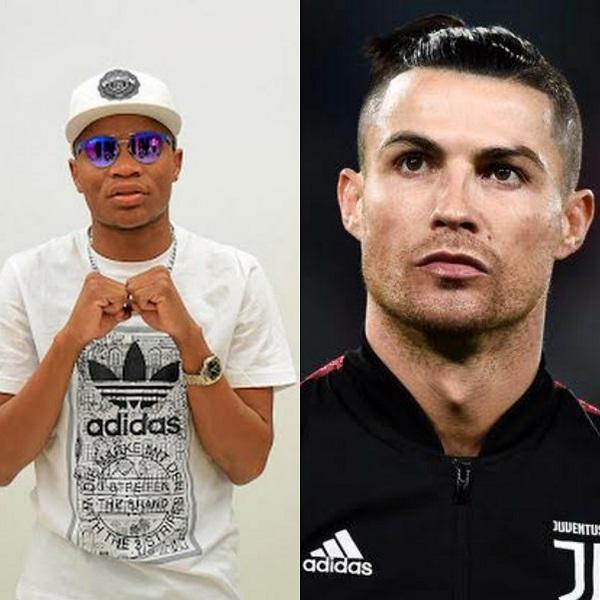Master KG and Cristiano Ronaldo