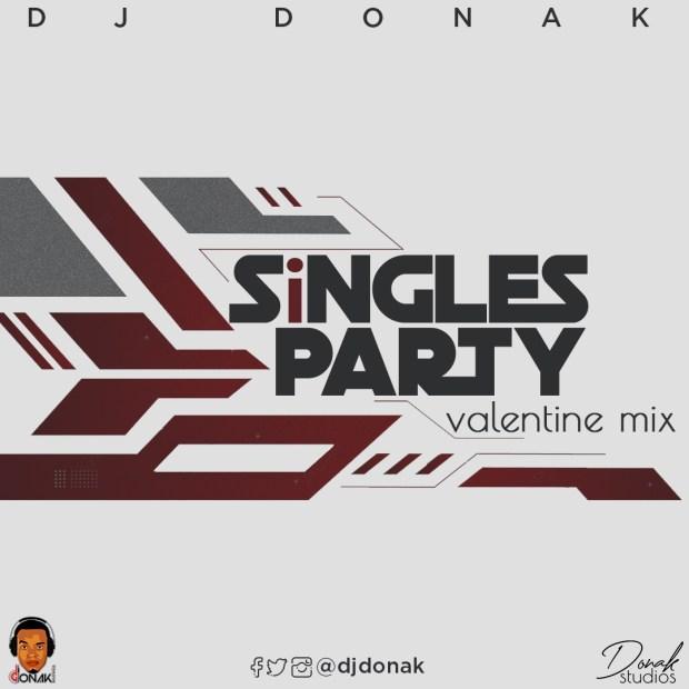DJ Donak Singles Party Valentine Mix