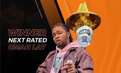 Omah Lay Wins Headies Next Rated Artiste