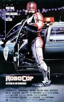 """Pôster original do filme """"Robocop"""""""