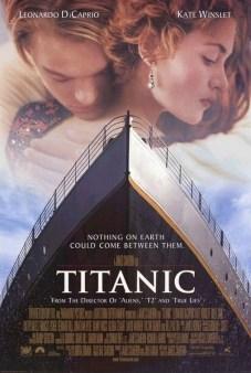 """Pôster original do filme """"Titanic"""""""