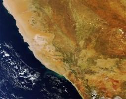 Sul da Namíbia e norte da África do Sul