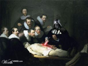 """Releitura de """"A Lição de Anatomia do Dr. Tulp"""" de Rembrandt"""