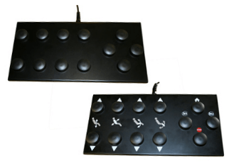 pédalier multi-fonctions avec puck 6241
