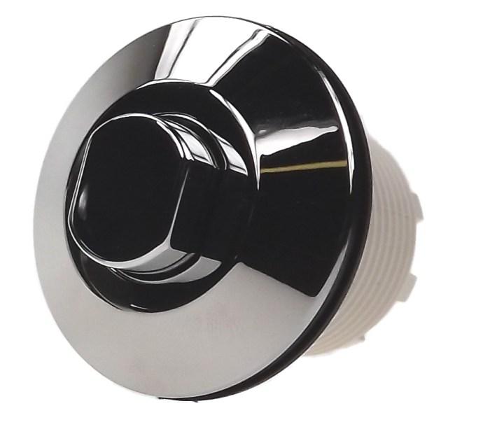 bouton pneumatique chromé 6442 - grohe adagio