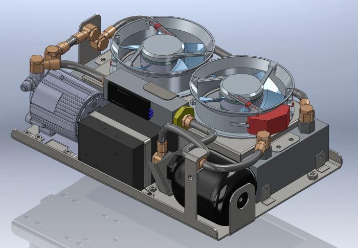 système de refroidissement customisé