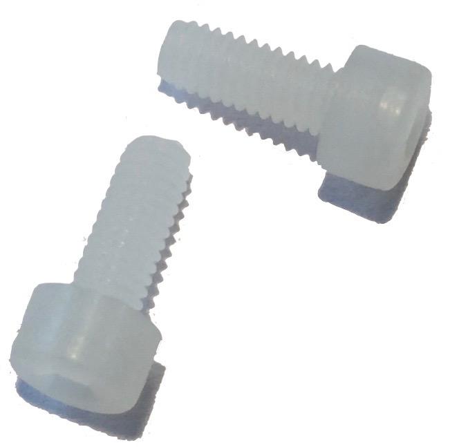 vis plastique tête ronde