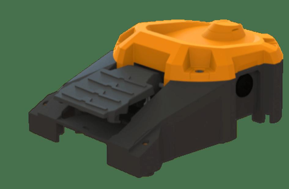 Pédales potentiométriques robuste pour machine outil