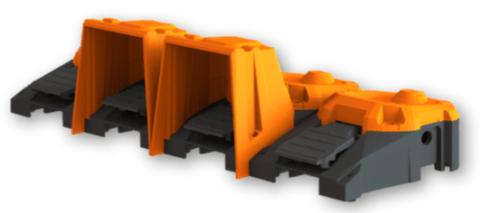 pédale industrielle modulaire
