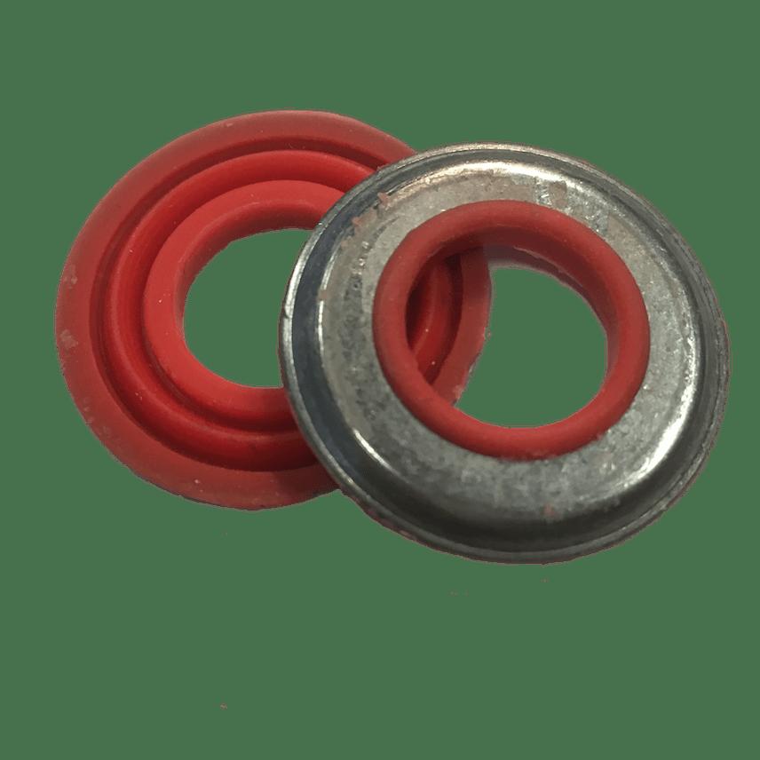 rondelle en metal avec joint etanche