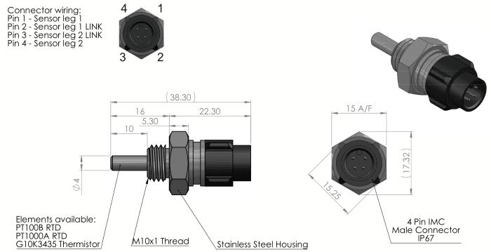 etp-am-sp-imc dimensions sonde temperature