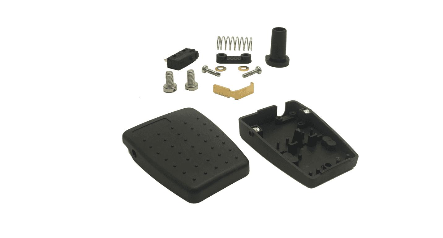 6227-s kit de pedale en plastique IPX2