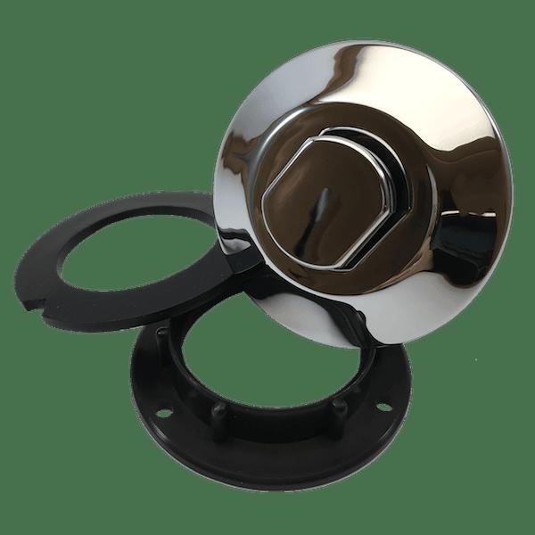 bouton poussoir a visser chrome 6442-BCCA-A000