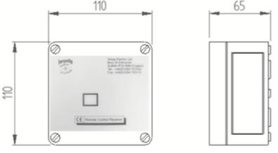 recepteur infrarouge 1 et 2 canal