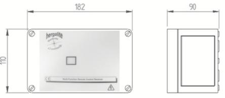 recepteur infrarouge indusriel 4 canaux