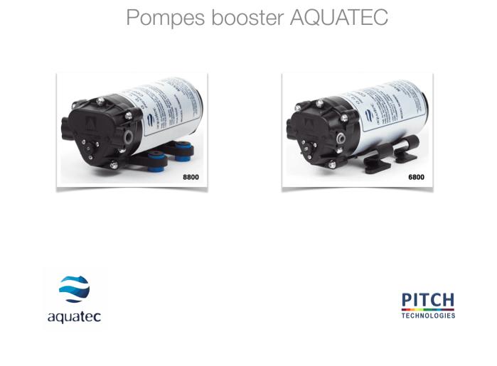 Pompes booster AQUATEC