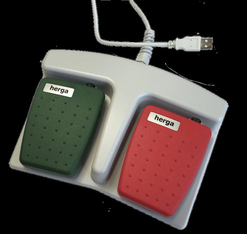 6227-0014 2 PÉDALES USB DOUBLE