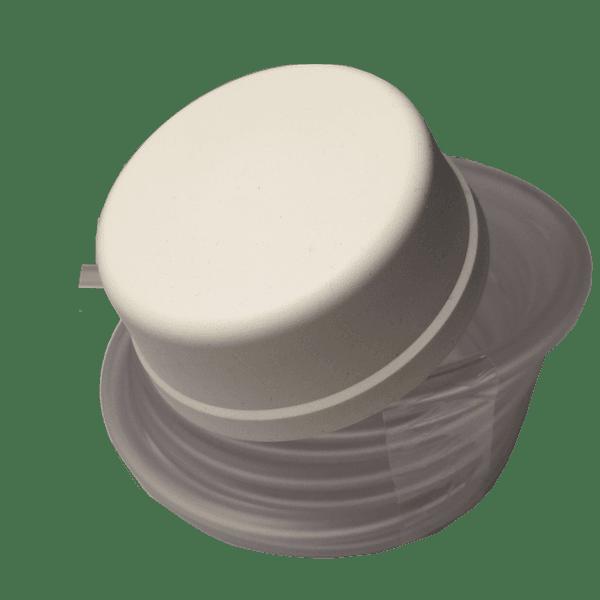 interrupteur pneumatique blanc pour spa avec tube