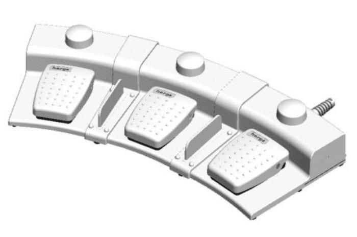 6226-0065 3pedales modulaires herga