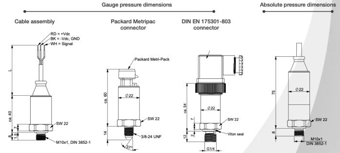 capteur de pression smo3100 sil2 pld