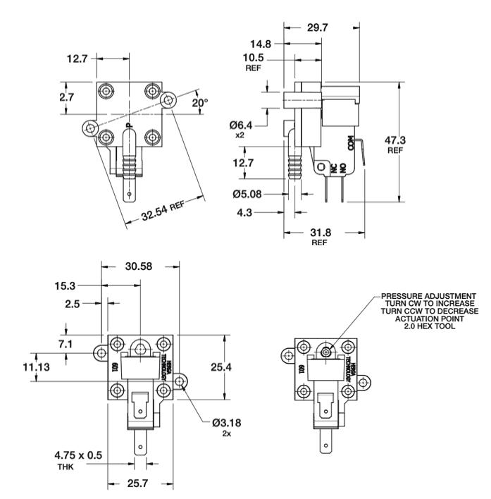 dimensions-hps-601-G