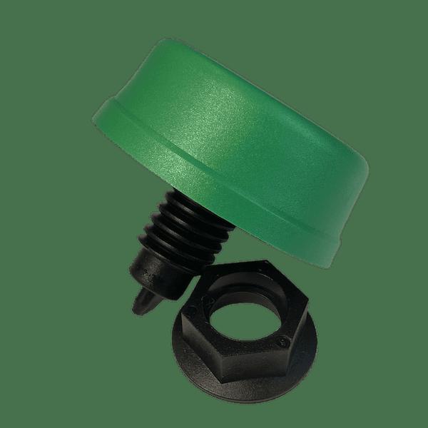 6433-0015 soufflet pneumatique a visser couleur verte