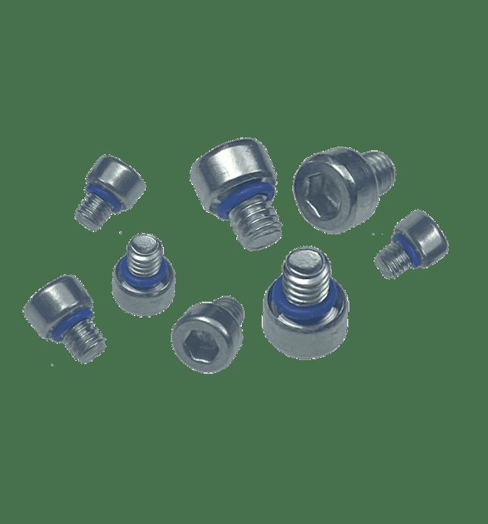 vis BTR fluoro silicone A4 inox étanche M1,6 M2 M2,5 M3
