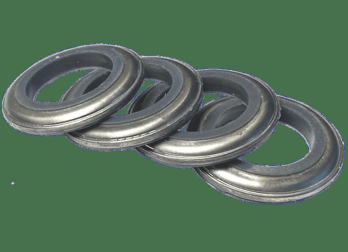rondelles M16 étanches 2 faces A4 316SS silicone