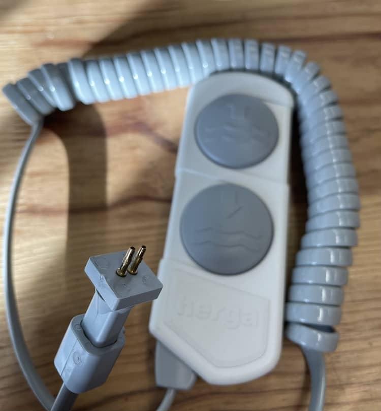 6450 telecommande 2 bouton à air connections