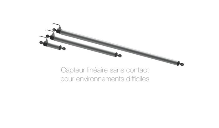capteur linéaire sans contact pour industrie ip67 4-20mA