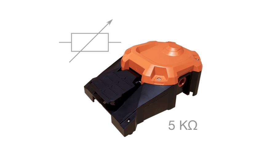 Commande à potentiomètre 5KΩ 6256-ACGZ-ZZZZ