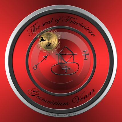 Demon Frucissiere is described in the Grimoirium Verum. This is his seal
