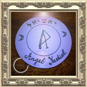 Dies ist das Siegel von Angel Yashiel von Clavicula Salomonis.