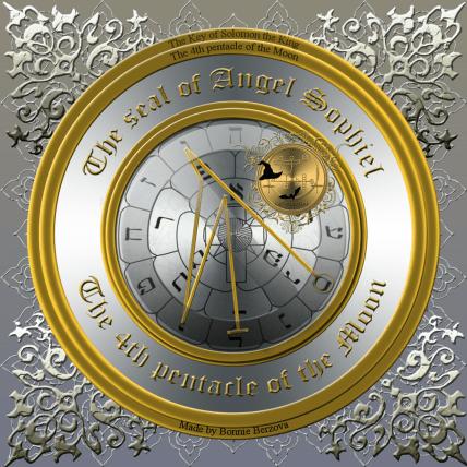 The seal of Angel Sophiel.