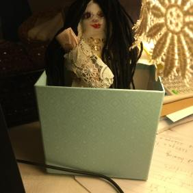 This is a doll and she represents me.