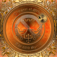 Demon Belial is described in the Goetia and this is his seal.